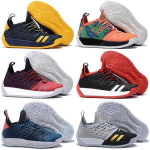 2018 القادمون الجدد أحذية كرة السلة للرجال هاردن Vol.2 أحذية رياضية أصيلة جيمس هاردن المجلد 2 حذاء كرة السلة للمحترفين
