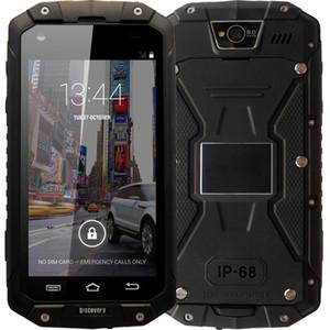 Yeni GuoPhone Keşif V9 IP68 Ile Cep Telefonu V9 PRO MTK6580 Android 5.1 3G GPS AGPS 4.5 Inç Ekran Darbeye Su Geçirmez Akıllı Telefon