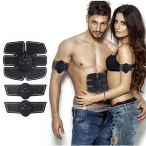 Dispositivo Estimulador de Entrenamiento Muscular Abdominal Wireless EMS Belt Gym Professinal Body Slimming Massager Home Fitness Belleza Gear Q114