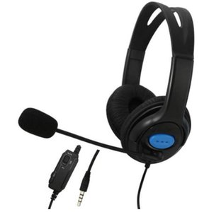 3.5mm Earphone Game Wired headset Earphone Headset with Mic for PC Computer Gaming for PlayStation 4 PS4 with package