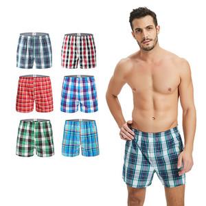 5pcs  Lot High Quality Sexy Mens Underwear Boxers Cotton Calzoncillos Hombre Boxer Men Boxer Shorts Male Trunks