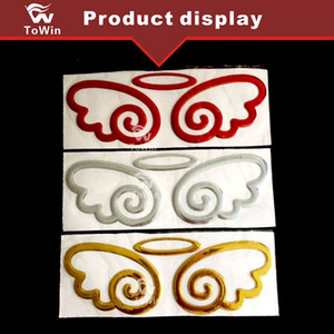 Universal For All Cars,DIY Car Decals Stickers,Automotive exteriors  Car decoration Auto parts Accessories Silver Gold Red.