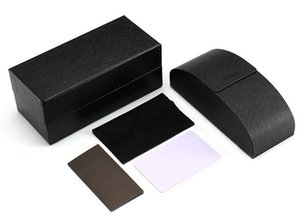 Sunglasses Retail Packages with box,bag pouch, cloth, Card Top quality Factory Price Brand Sunglasses Retail Box Cases packagings