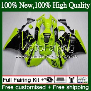 HONDA CBR 600F2 için gövde FS CBR600 F2 91 92 93 94 46MF20 CBR600FS CBR 600 F2 CBR600F2 1991 1992 1993 1994 Fairing Karoser Açık yeşil