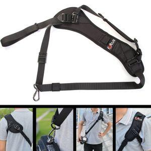 New Fashion Carry Speed Belt soft Shoulder Foucs F1 Quick Rapid Camera Single Shoulder Sling Black Belt Strap for DSLR Camera