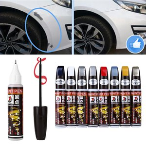 2Pcs Universal Auto Car Coat Paint Pen Touch Up Scratch Clear Repair Remover Remove Tool Car-Styling 13 Colors