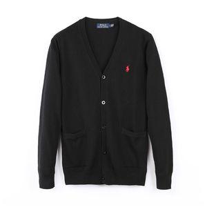 Марка Дизайнер Polo Кардиган свитер мужчины и женщины высокого качества одежды Лондон Нью-Йорк Чикаго поло Мужской кнопка свитер Polo Sh