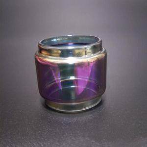 Gökkuşağı Pil Smok için Cam Tüp Değiştirme Uzatın TFV8 Bebek V2 V 2 II Yağ Ampul Genişleme E Çiğ Vape Atomizer Aksesuarları ECIG Buhar