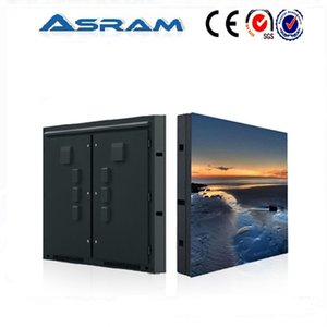 Visuelle LED-Videoanzeigetafel P7.62 für Bühnenshow und Werbefläche für Fernsehprogramme