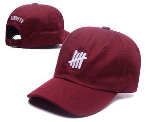 Unbesiegte Baseballmützen Bone Gorras Papa Hut Strapback 6 Panel Baumwolle lässig Hip Hop Mütze Hut für Männer Frauen Großhandel Basketball Hut