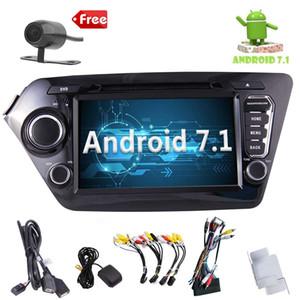 ستيريو راديو صوت السيارة لـ KIA K2 (2011-2012) Android 7. 1 نظام ملاحة GPS 8 '' Quad-core car DVD WiFi AM / FM Bluetooth Receiver