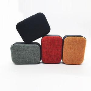 Tissu Sans Fil Bluetooth Haut-Parleur Mini Carte Radio U Ordinateur Portable USB Recharge Portable Audio livraison gratuite