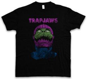 T-SHIRT TRAPJAWS Trap Jaw Masters Anime del Battle Battle Universo MOTU