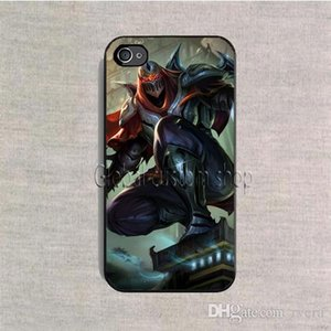 Ücretsiz Kargo Telefon Kılıfı Zed League of Legends LOL kapak plastik kasa iPhone 4 s 5 5 s SE 5c 6 6 s 7 8 Artı X samsung galaxy not 8 s9 artı