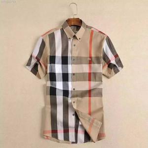 Chemise Casual pour hommes de marque pour hommes à manches longues à rayures slim fit camisa masculina t-shirts pour hommes sociaux nouvelle mode homme chemise à carreaux 194