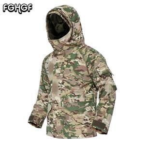 FGHGF G8 위장 전술 양 털 자 켓 남자 Hoody 두꺼운 열 재킷 재킷 겨울 따뜻한 방수 3XL