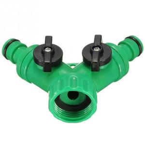 Хорошее качество 1/2-дюймовый полива сада 2-х ходовой разъем сплиттер шланг для воды быстрый адаптер