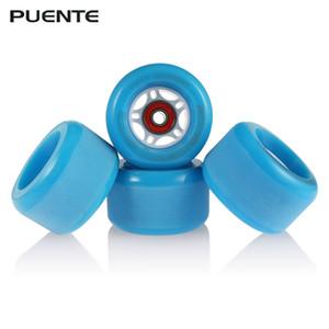 PUENTE 4PCS Skateboard Truck Shock Resistant Wheels PU