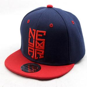 Niños del verano de la gorra de béisbol NJR Neymar Sombrero de las muchachas de los sombreros del Snapback de fútbol para niños Deportes Hip Hop Caps Casquette