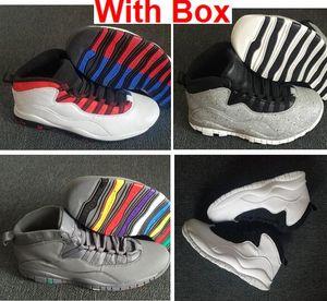 Cement 10 Westbrook Classe de 2006 10s I'm Back 10 Cool Grey 10s Chaussures de basket-ball Hommes Chaussures de sport Bottes de training Chaussures de baskets