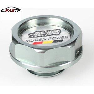 RASTP Aluminium huile moteur Embout d'huile Bouchon de réservoir d'huile Bouchon de remplissage de haute qualité gris RS-CAP003