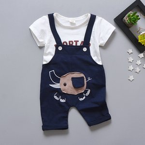 Jumpsuit Kids Newborn Infant Romper Bodysuit Jumpsuit Clothes Outfits Kids Suit Cotton Short Sleeve Set Romper