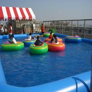 aufblasbarer Pool großer Innengebrauch des Swimmingpools im Freien Wasserparkschwimmen im Heißwasserspielzeugsommergebrauch durch das Geschäftseinkommen beträchtlich