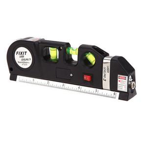 Pro Measuring Tape Tools Infrared Laser Level Ruler Horizontal Vertical Cross Line Laser Leveler For Indoor Decoration