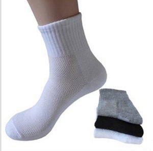 Calcetines para hombre Calcetines de algodón largos Calcetines de malla para hombre Soild Summer Soild nuevos para todos los accesorios de ropa de tallas para hombre