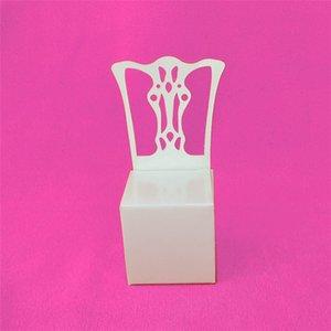 Белый стул бумажные коробки партия свадьба пользу подарок DIY коробка конфет Bomboniere сахарные коробки душа ребенка подарки сумки