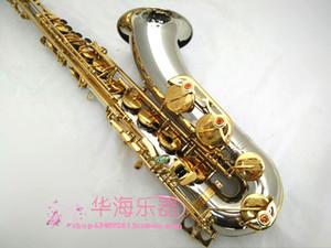 Nuovo di alta qualità Bb Tune Tenor Saxophone SUZUKI ottone placcato oro Concerto professionale Instruments Sax con il caso Bocchino