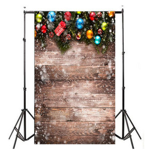 Allloyseed 3x5ft Christmas Balloon Retro Vinyl Studio Photo Backdrop Photography Props background of live streaming efecto 3D