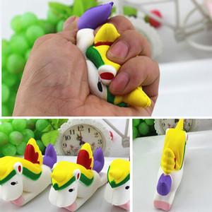 Langsam Einhorn Squishy Spielzeug Kinder Erwachsene Weiche Zappeln Squeeze Dekompression Spielzeug Dekoration Keychain Schlüsselanhänger Party Favor WX9-468