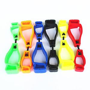 حامل القفازات العامل القفاز كليب البلاستيك المشبك سلامة العمل قفازات العمل مقاطع الحرس لوازم العمل