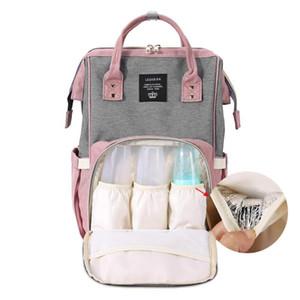Mode Baby Windel Taschen Multifunktionale Frauen Reiserucksack Pflege handtasche Mummy Windel Taschen Babypflege