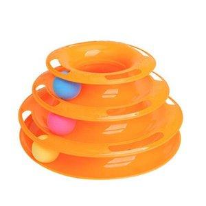 Moda juguetes divertidos para mascotas Cat Crazy Ball Disk Interactivo para mascotas Placa de entretenimiento Jugar disco Disco giratorio Gato de juguete