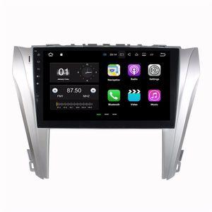 Android 7.1 Quad Core DVD del coche Radio GPS para el automóvil Unidad principal multimedia para Toyota Camry 2014 2015 con 2 GB de RAM Bluetooth WIFI Espejo-enlace