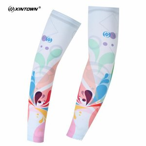 XINTOWN Mujeres Cycling Arm Warmers Summer MTB Bike Mangas de la bicicleta Armwarmer UV Protection Cuff Mangas Ridding Golf Brazo Mangas