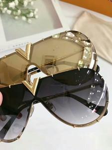 상자 클래식 파일럿 선글라스 금 / 회색 음영 Sonnenbrille 남성 패션 태양 안경 Gafas 드 졸 새로운