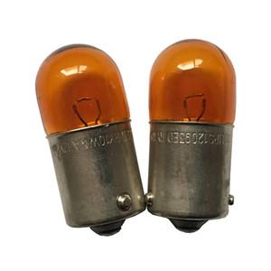 2PCS Genuine Turn Signal Bulbo de la lámpara RY10W 12093 5009 Ámbar Color Bulbos de la luz N0177197 N0177196