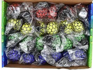 Antistress Mesh Face Reliever Grape Ball Autismo Umore Spremere Sollievo Giocattolo Sano Divertente Gadget Vent Decompressione giocattoli Regali #pt