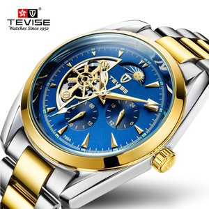 New TEVISE Automatic Tourbillon Mechanical Watches Men watch Sport Business WristWatch Male Clock Automatico Relogio Masculino D18101002