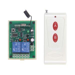 1000M 12V 24V DC 2 CH 2CH RF Controlo remoto sem fios Sistema de Comutação, Transmissor Receptor +, 315/433 MHz