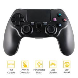 PS4-Controller Wireless-Bluetooth-Controller Wireless Gamepad für PS4 Videospiele PlayStation 4 (PS4) schwarze Farbe Einzelhandel