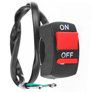 Универсальный руль мотоцикла переключатель вкл-выкл кнопка переключатель для U5 U7 U2 фары LED Angel Eyes Light Switch Kill Stop Button