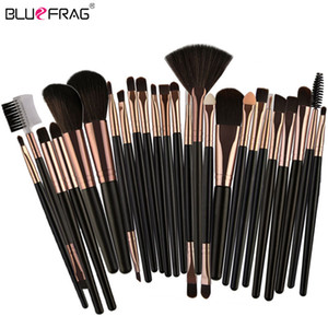 25 / 20pcs Pennelli per trucco Set di attrezzi per la bellezza Fondotinta Blush Ombretto Brow Lash Fan Lip Face Make Up Brush Kit kabuki