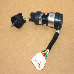 Interruptor de arranque para 178F 186F 186FA serie 5KW 6.5KW diesel 3KW timón eléctrico puerta bloqueo kama kipor partes