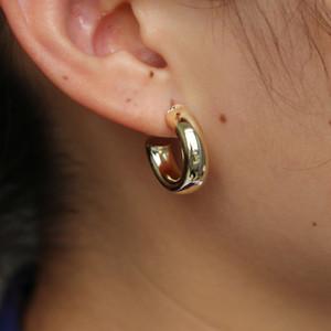 Boucles d'oreille créole 520mm gothique hiphop demi-cercle créoles boucles d'oreille