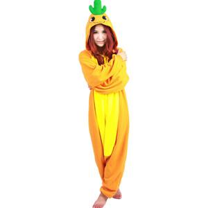 유니섹스 만화 당근 파자마 코스프레 Onesies Halloween Costume Jumpsuits 여성용 크리스마스 선물 Romper Direct Sales