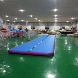 Free Shipping 12*2*0.2m Air Track Gymnastics Mat Inflatable Tumbling Mat Air Floor for Home Use, Beach, Park and Water, Cheerleading